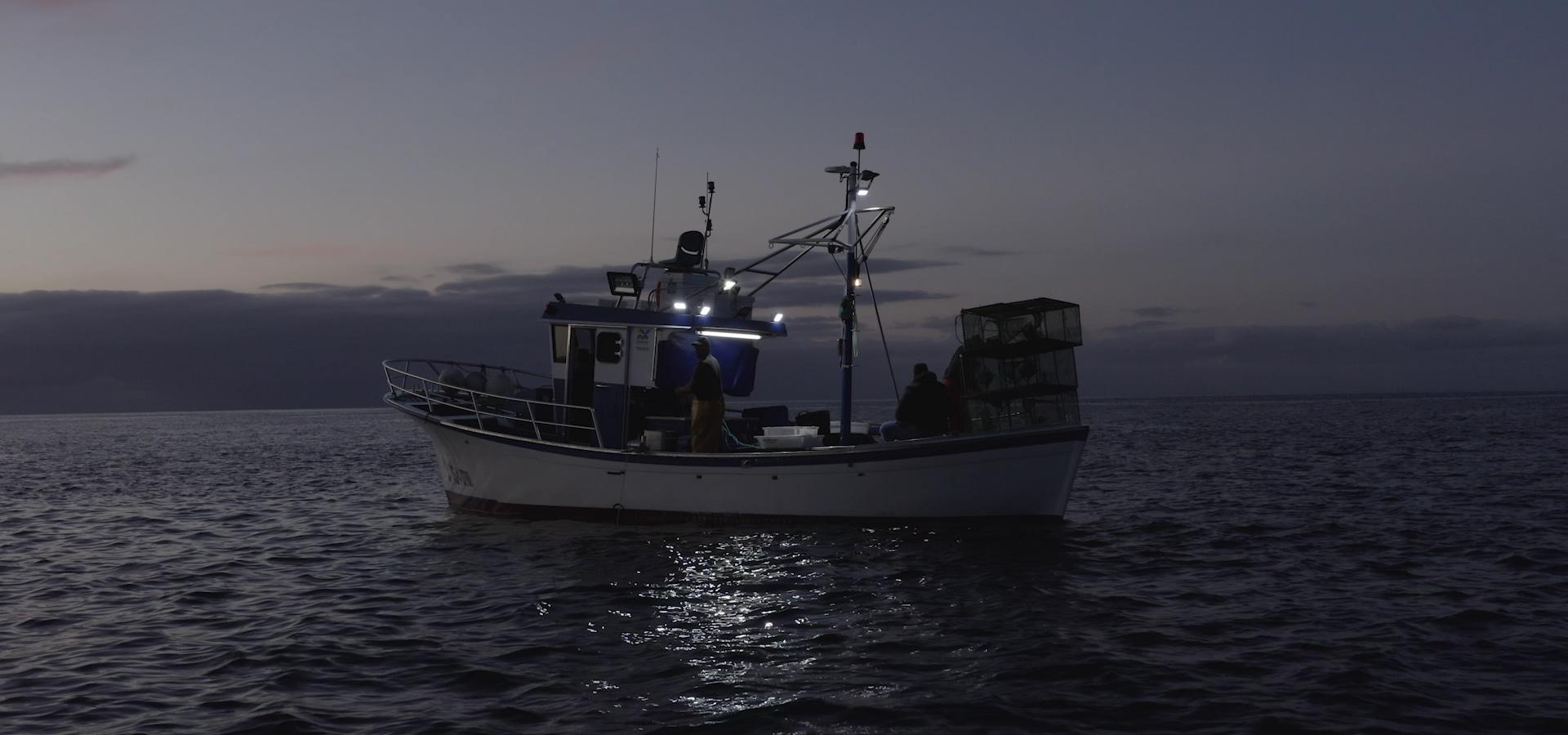 Barco de pesca artesanal de Tenerife