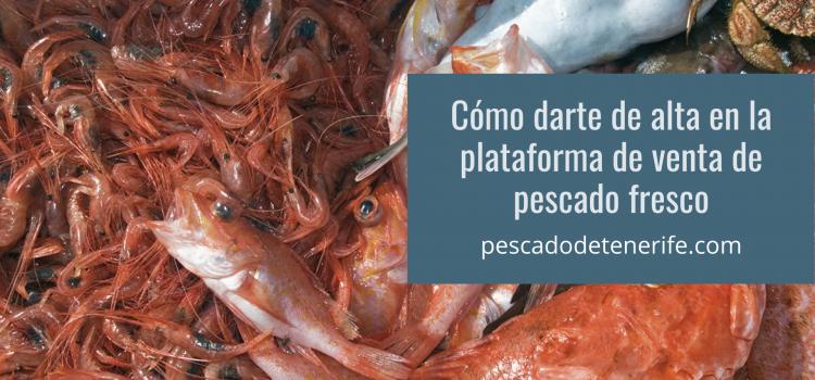 Cómo darte de alta en pescadodetenerife.com y comprar pescado fresco a domicilio.