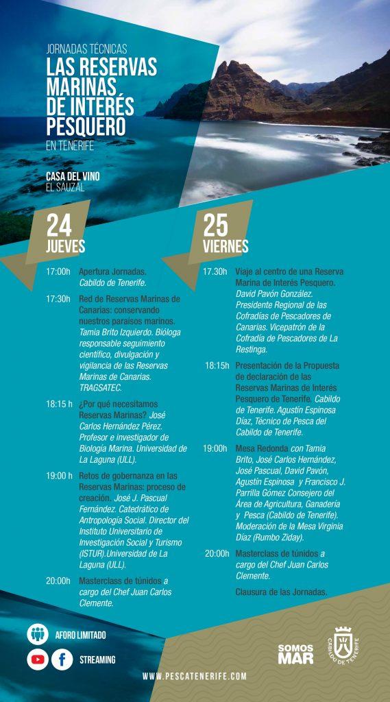 Jornadas divulgativas sobre las Reservas Marinas