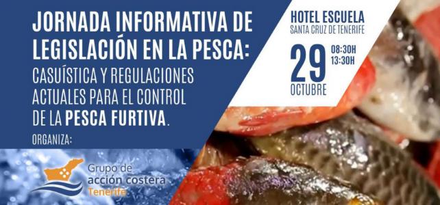 Jornadas  Informativas de Legislación en la pesca  en Tenerife