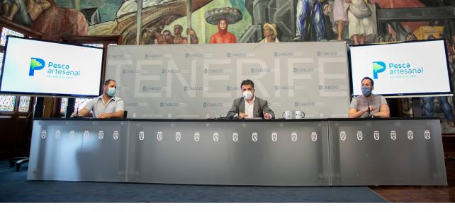 El Cabildo impulsa la marca colectiva Pesca Artesanal para relanzar la campaña en 2021