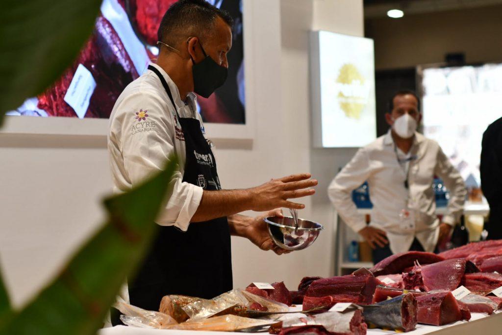 Los cocineros de Tenerife en Madrid Fusión donan 150 kilos de túnidos a personas en riesgo de exclusión a través de Acyre Canarias